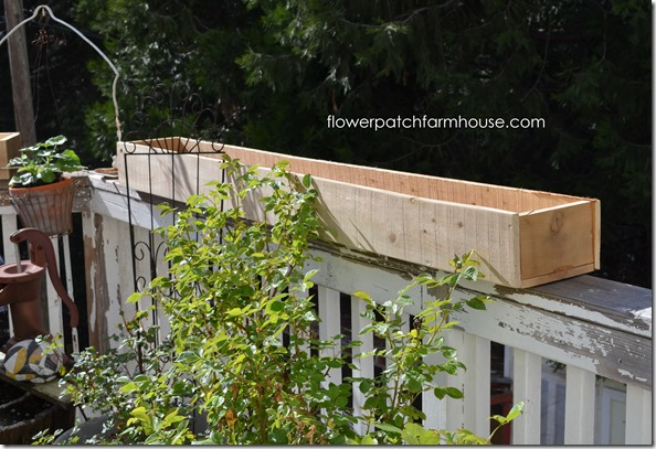 fence board planters 5