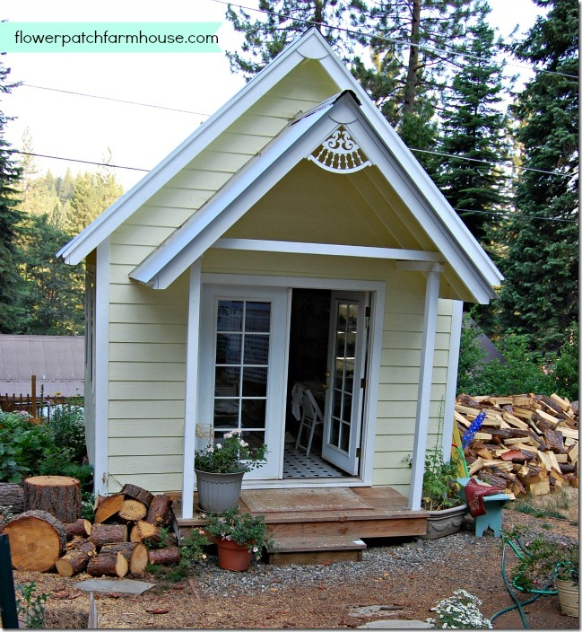 Build Your Own Crafting Cottage Garden Or She Shed Flower Patch