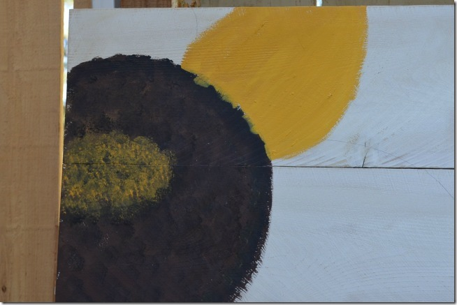 paint a sunflower tutorial 10