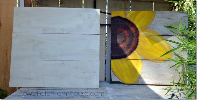 paint a sunflower tutorial 1