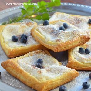 Easy Cheese Danish Recipe - FlowerPatchFarmhouse.com