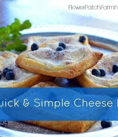 Simple Cheese Danish Recipe