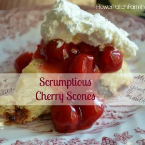cherry scone recipe