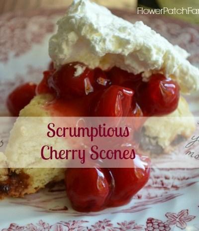 cherry scone recipe