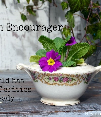 inspired Monday Be an Encourager