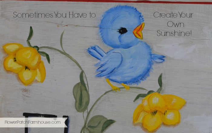 Create Your Own Sunshine Bluebird