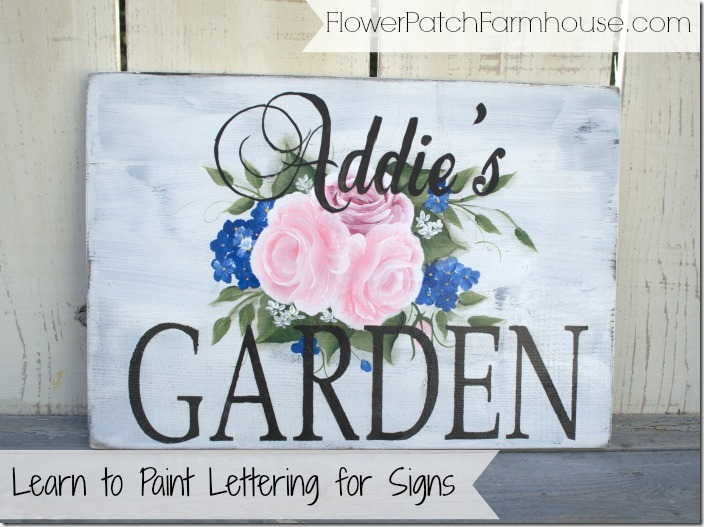 Learn to Paint Lettering
