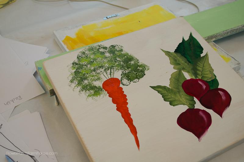 Radish & Carrot Painting, FlowerPatchFarmhouse.com (29 of 36)