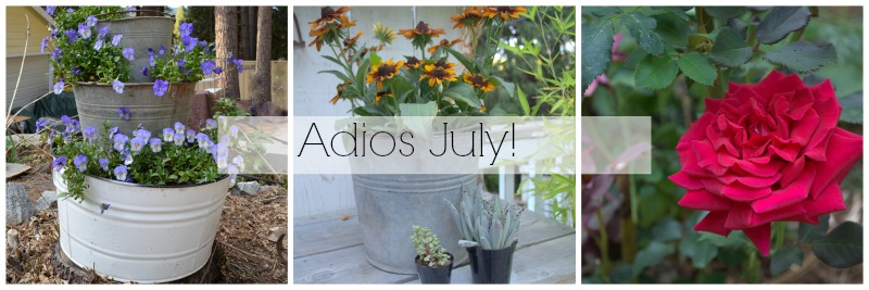 What a Great July, FlowerPatchFarmhouse.com