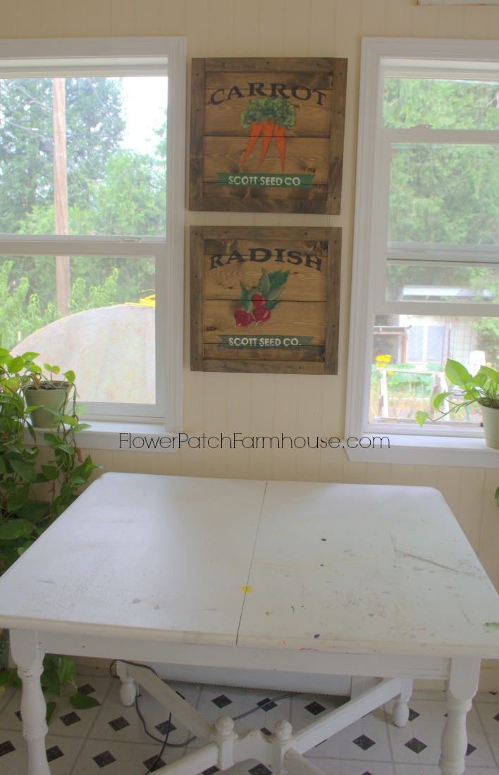 vintage seed packet signs, FlowerPatchFarmhouse