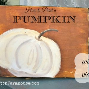 Learn to Paint a Pumpkin Fast and Fun