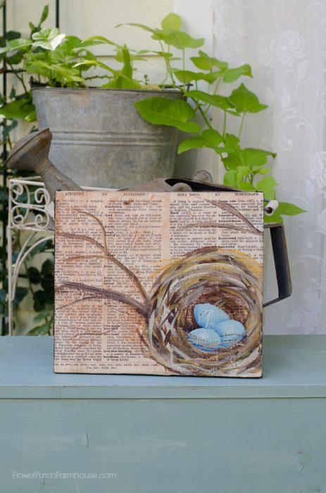 nest on bookpage, flowerpatchfarmhouse.com (2 of 6)