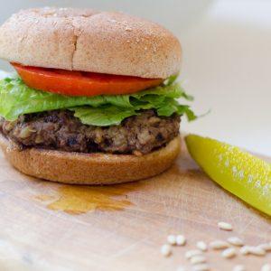 Smoky Beef Burgers with Barley, FlowerPatchFarmhouse.com