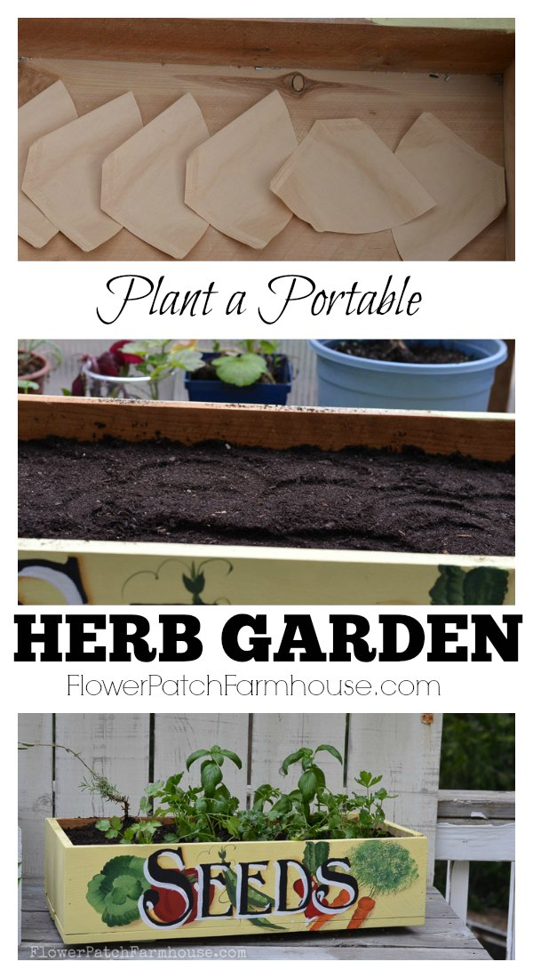 Plant A Portable Herb Garden, Great By The Kitchen Door For Fresh Clipped  Herbs For