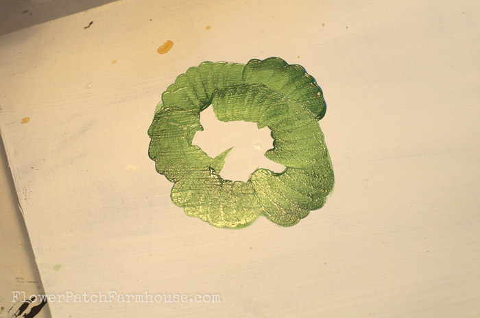 How to Paint a Head of Lettuce, FlowerPatchFarmhouse.com