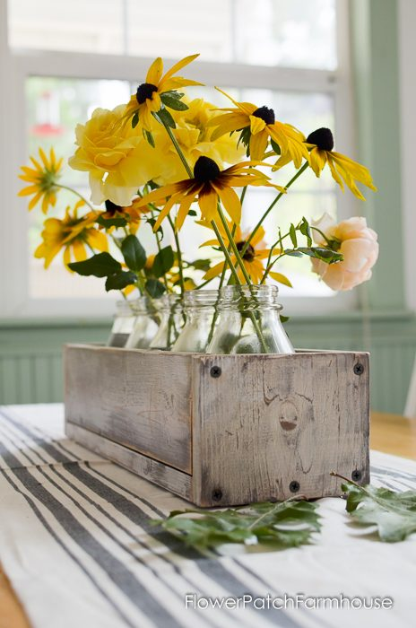 A bit of Fall in the Dining Room, FlowerPatchFarmhouse.com