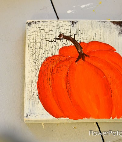 Learn How to Paint Orange Pumpkins
