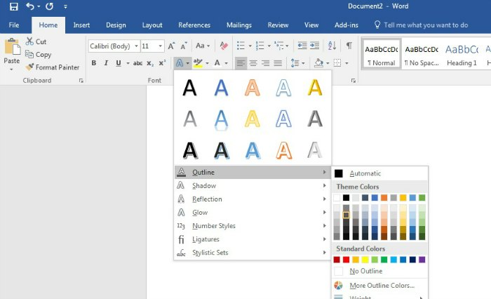 Create signs using WORD, easy enough for beginners