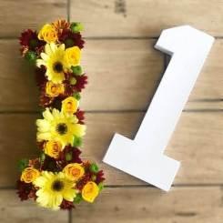 מספרים מפרחים
