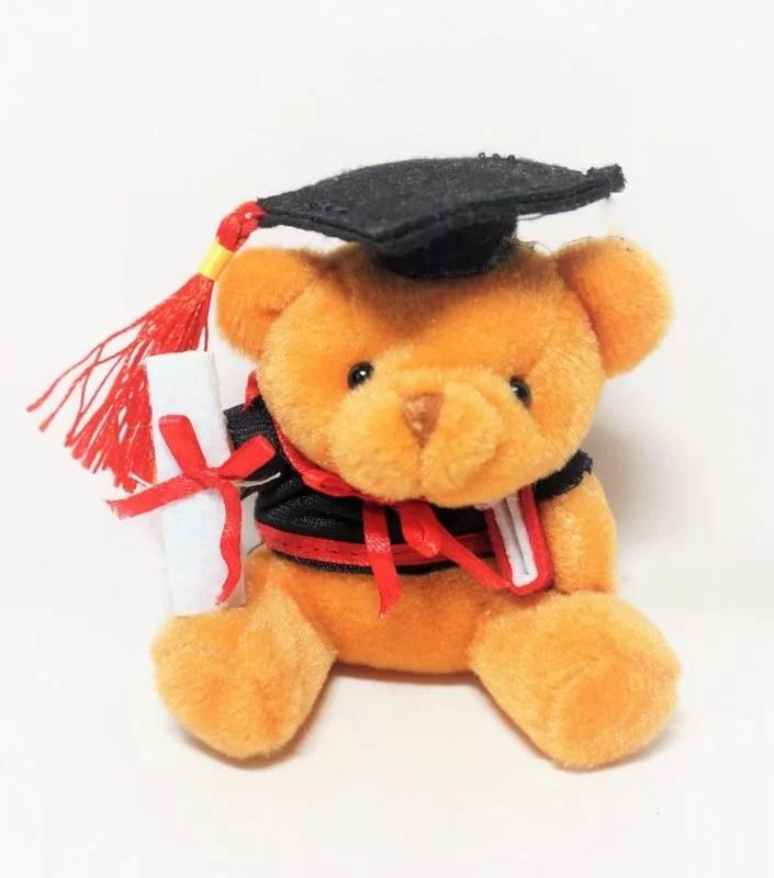 brown grad bear