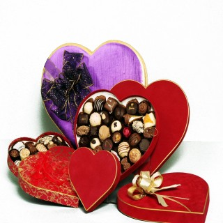 Valentines Flowers Chocolate And Wine Gifts