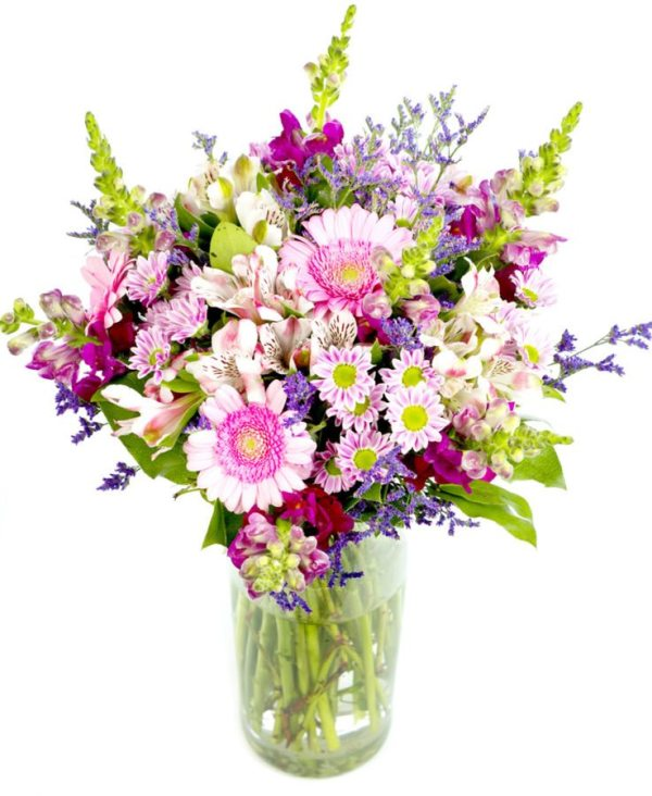 6 Mothers Day Bouquet Creams Pinks Purples | Flowers by ...
