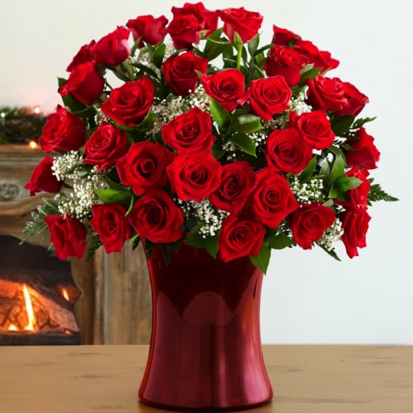 Send Love elegance LR Flower Gifts to Dubai with Flowers Dubai     Love elegance LR