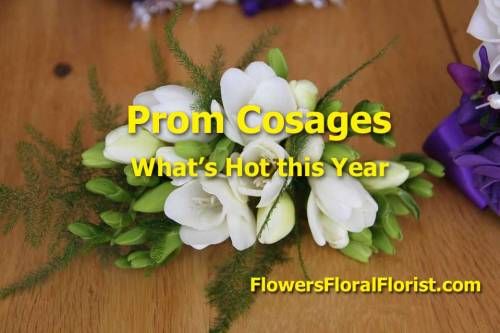 prom flower ideas