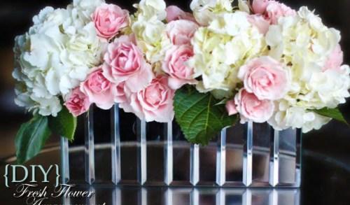 DIY Fresh Flower Centerpiece
