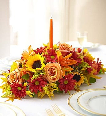 1-800-Flowers Thanksgiving Centerpiece