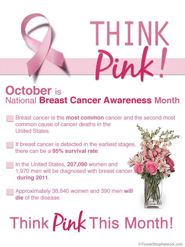 Think Pink This October Humphreyfloristblogs Blog