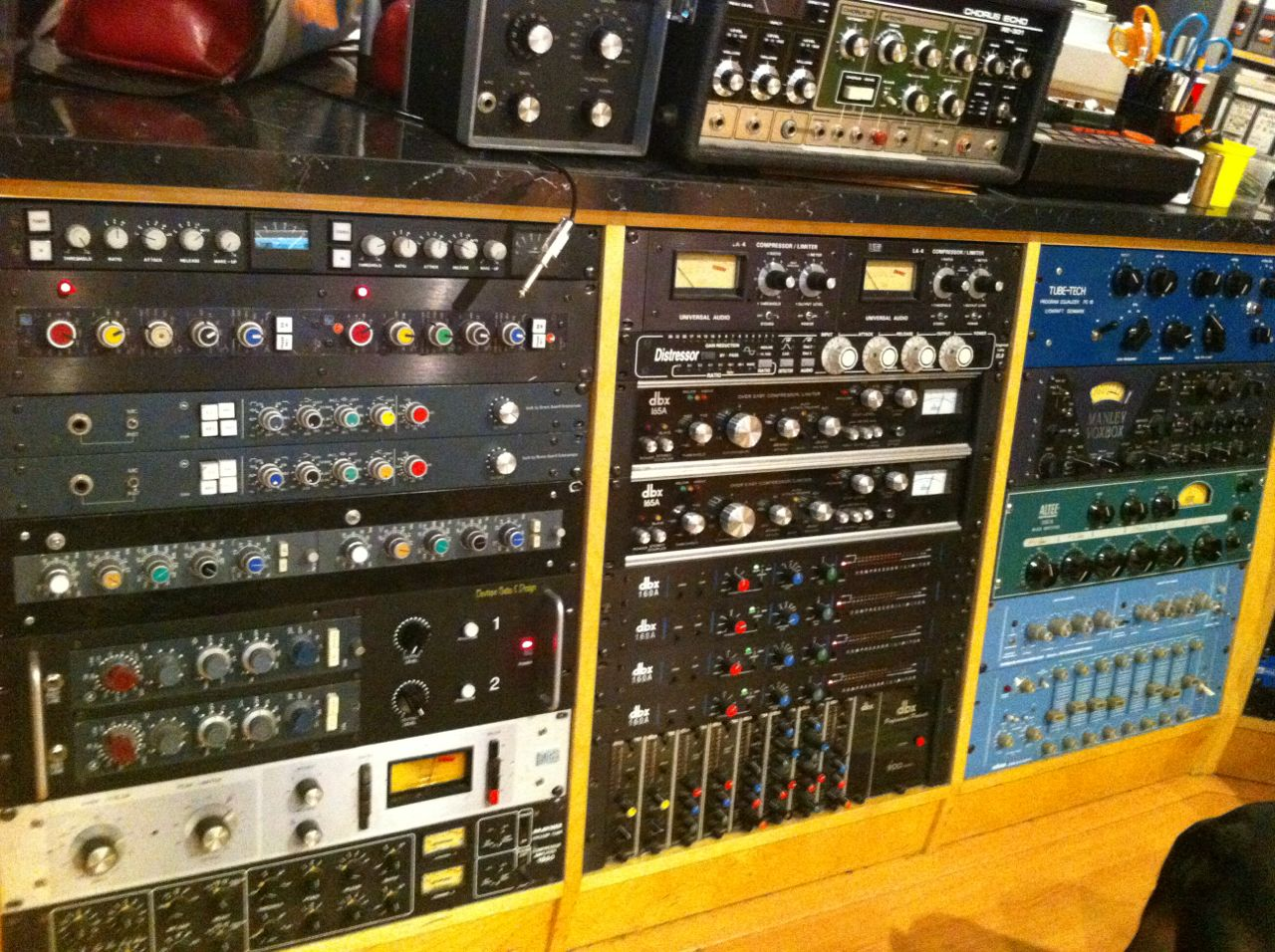 External Mic Preamps and EQ's - Flowers StudioFlowers Studio