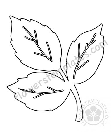 This is an image of Leaves Stencil Printable pertaining to leaf cutting