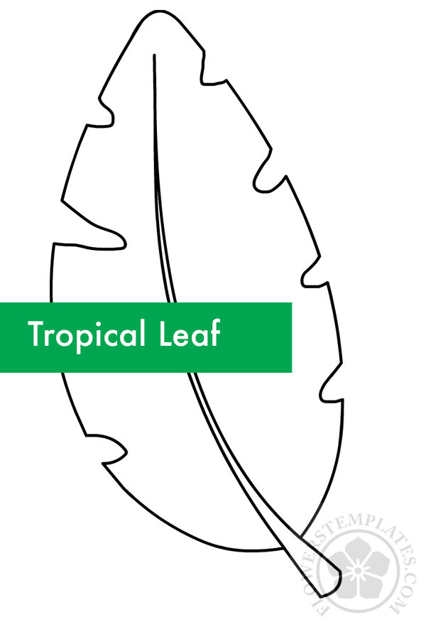 Tropical Leaf Outline Flowers Templates Create a pattern template in affinity designer. tropical leaf outline flowers templates