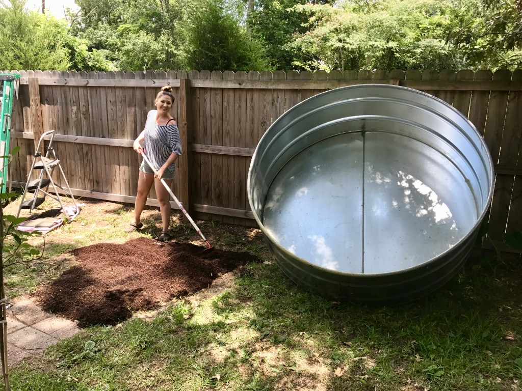 Blog flowertown charm - How to filter a stock tank swimming pool ...