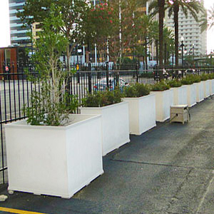 large outdoor planter boxes