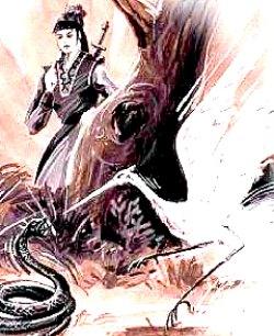 Ng-Mui-crane-snake-art