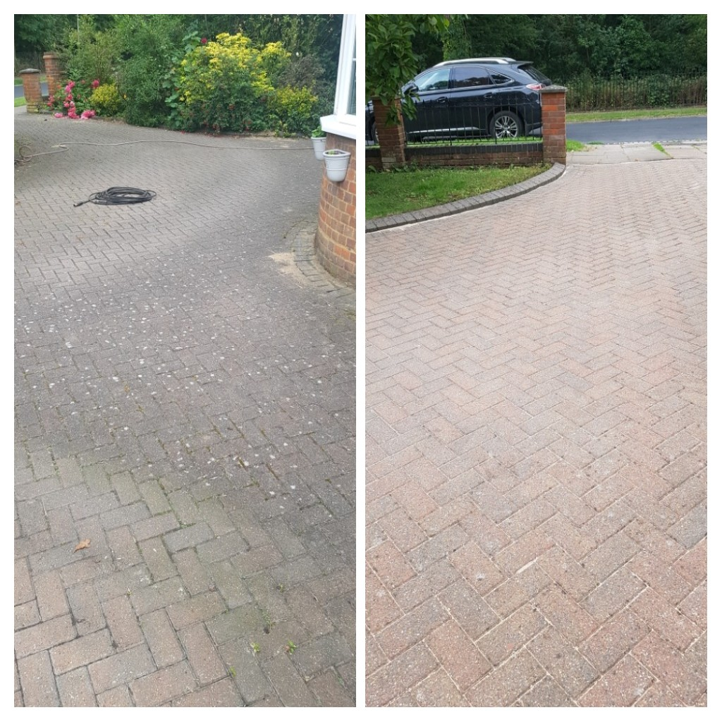 Blocked Paved In\Out Drive – St Albans