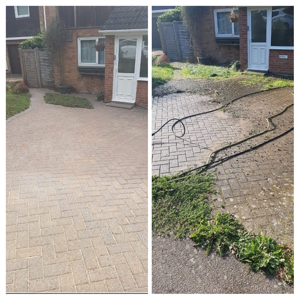 Blocked Paved Drive – Harpenden