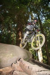 north vancouver mount seymour mtb freeride drop