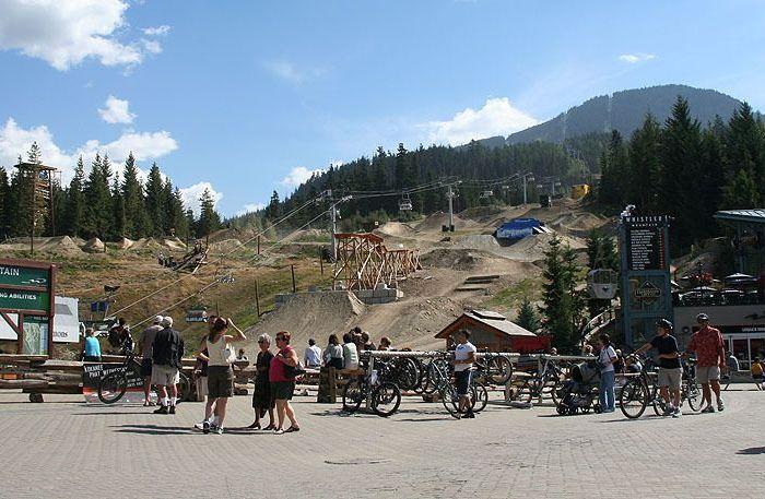 whistler bikepark village