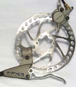 Hayes Hydraulic Discs