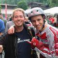 Ryan Leech und Dave am Adidas Slopestyle in Saalbach/Hinterglemm im Jahre 2005