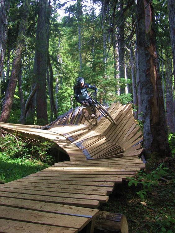 Mount Washington Bikepark Trail
