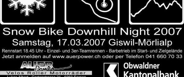Auer Power - Snow Bike Downhill Night