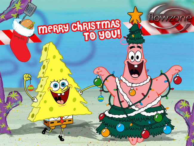 Merry Christmas Spongebob