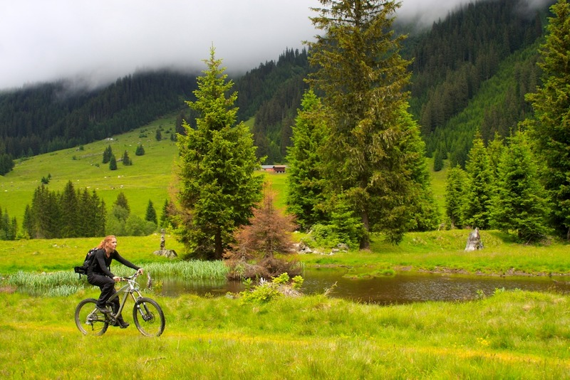 MTB Freeride Klosters Davos
