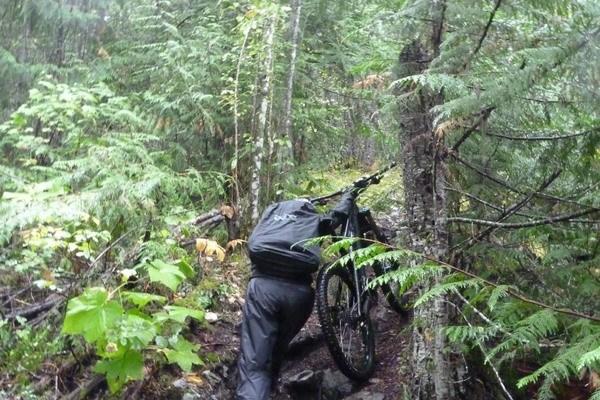 Freeride Mountain Bike Kanada BC