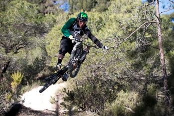Fabien Barel Action Canyon Enduro