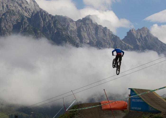 Beliebtes Rennen in schöner Kulisse - Der UCI DH Worldcup in Leogang